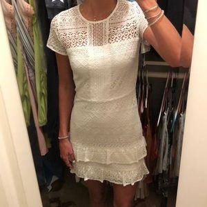 white parker dress